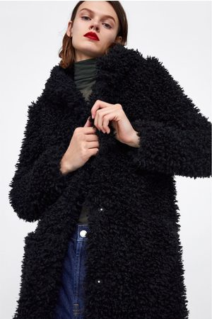 purchase cheap 5b522 6009f Cappotto pelliccia sintetica soft