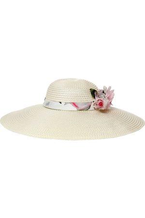 MONNALISA Cappello Con Applicazioni Floreali