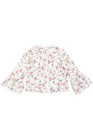 MONNALISA Giacca In Tweed Di Cotone