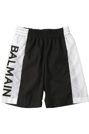 Balmain Shorts Mare In Nylon