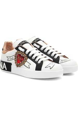 Dolce & Gabbana Sneakers Portofino in pelle