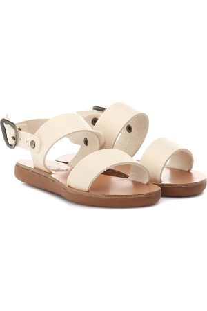 Ancient Greek Sandals Kids Sandali Little Clio in pelle