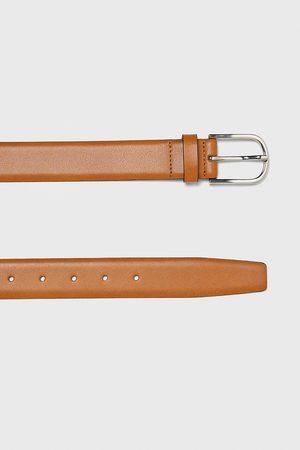 Zara Cintura pelle colorata