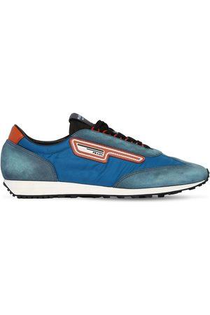 "Prada Sneakers Running ""milano 70"" In Nylon E Camoscio"