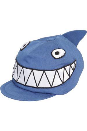 """Dolce & Gabbana Cappello """"shark"""" In Gabardina Di Cotone"""