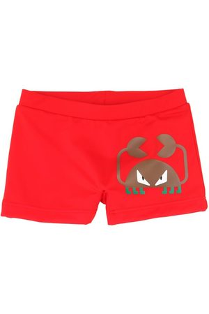 Fendi Shorts Mare In Lycra