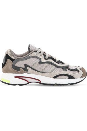 """adidas Sneakers """"temper Run"""" In Rete E Camoscio"""