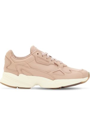 """adidas Sneakers """"falcon"""" In Rete E Camoscio"""