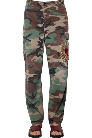 Dolce & Gabbana Pantaloni Camouflage