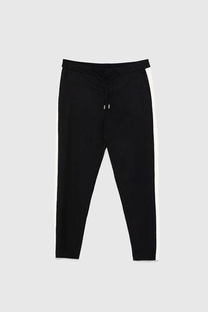 Zara Pantaloni jogger striscia laterale