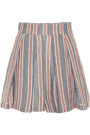 Three Graces London Shorts Kilman in lino e cotone