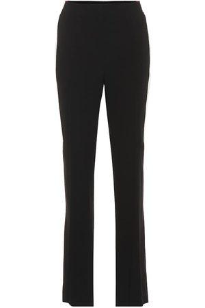 Givenchy Pantaloni a vita alta in crêpe