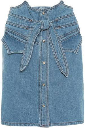 Nanushka Minigonna di jeans Reese