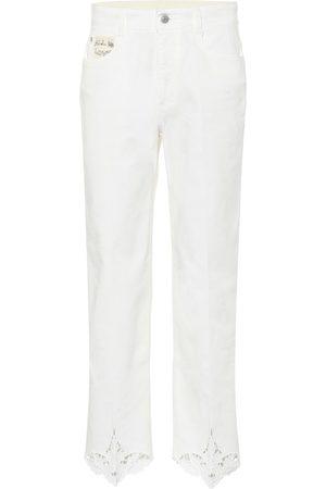 Stella McCartney Jeans regular con ricamo