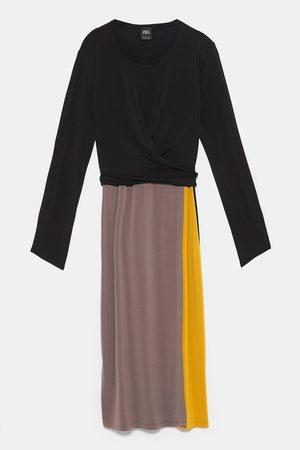 Zara Vestito color block