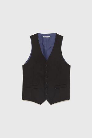 Zara GILET DA COMPLETO CINZATO COMFORT TAILORED FIT
