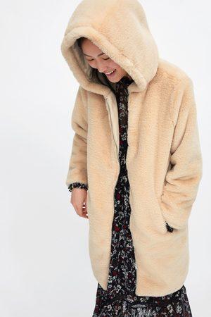 Zara Cappotto pelliccia sintetica