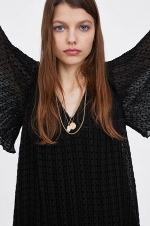 Zara Vestito plissé