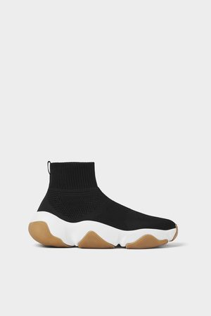 Zara Sneakers stivaletto calzino