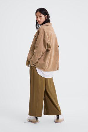 Zara Giubbotto in velluto a costine