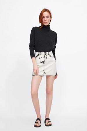 Zara Minigonna z1975 tie dye