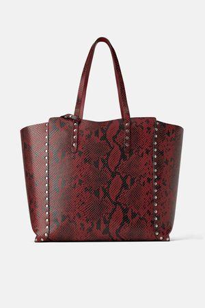 Zara Shopper double-face borchie