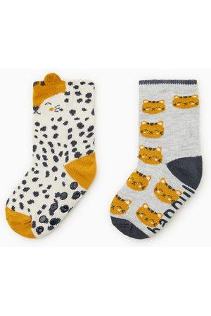 Zara Pack due paia calzini tigre