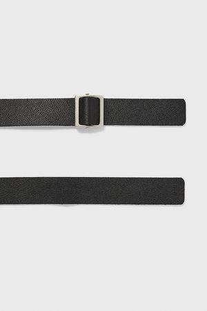 Zara Cintura in pelle con passante