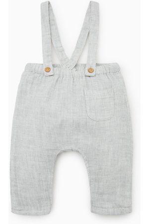 Zara Pantaloni alla turca bretelle