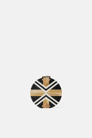 Zara Borsa a tracolla in legno
