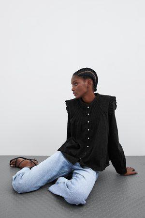 Zara Camicia con guipure