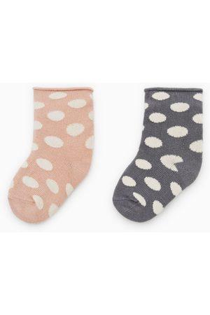 Zara Confezione di due calzini a pois