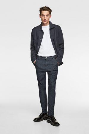Zara Pantaloni chino denim