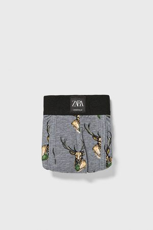 Zara Boxer stampati cervi