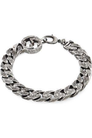 Gucci Bracciali - Bracciale GG con catena in argento