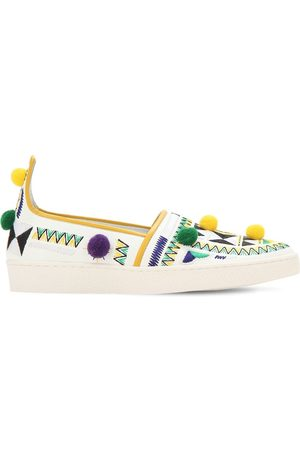 Aquazzura Sneakers Slip-on In Ecopelle