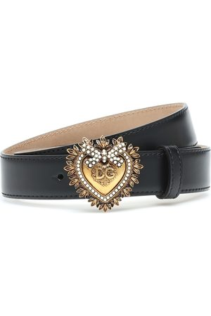 Dolce & Gabbana Cintura Devotion in pelle