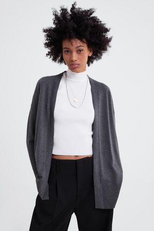 Zara Cardigan in maglia spacchi