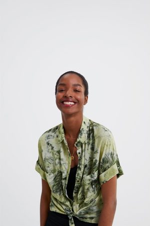 Zara Camicia con stampa tie dye
