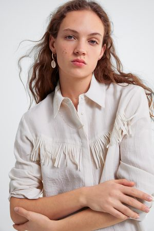 Zara Camicia frange
