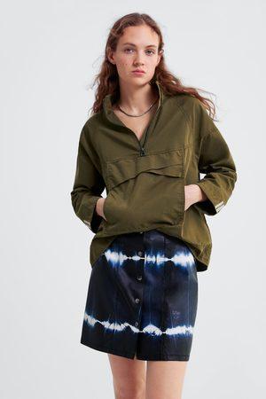 Zara Donna Minigonne - Minigonna tie dye