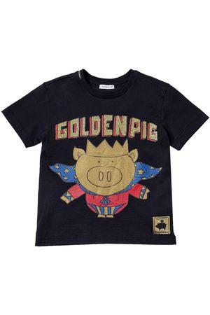 Dolce & Gabbana T-shirt In Jersey Di Cotone