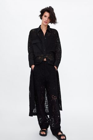 Zara Tunica in pizzo con tasca