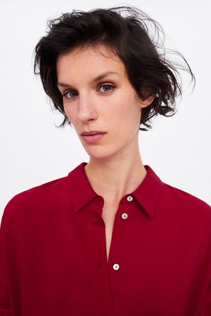 Zara Camicia lunga oversize