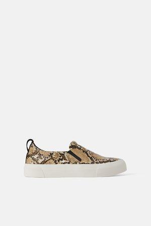 Zara Sneakers con stampa animalier