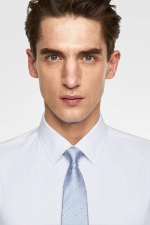 Zara Cravatta larga rombi