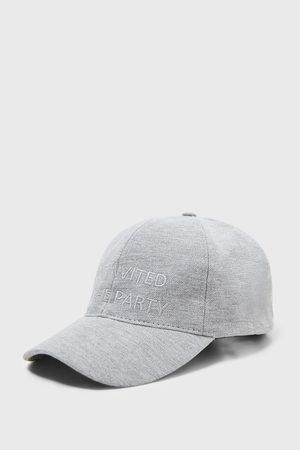 Zara Cappello piqué ricamo