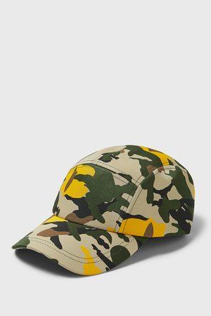Zara Cappello stampa mimetica