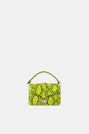 Zara Mini city bag stampa animalier
