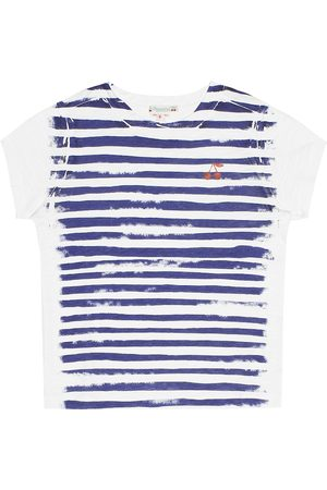 BONPOINT T-shirt a righe in cotone